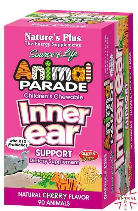 Animal Parade Inner Ear Support 90c mast Nature's Plus