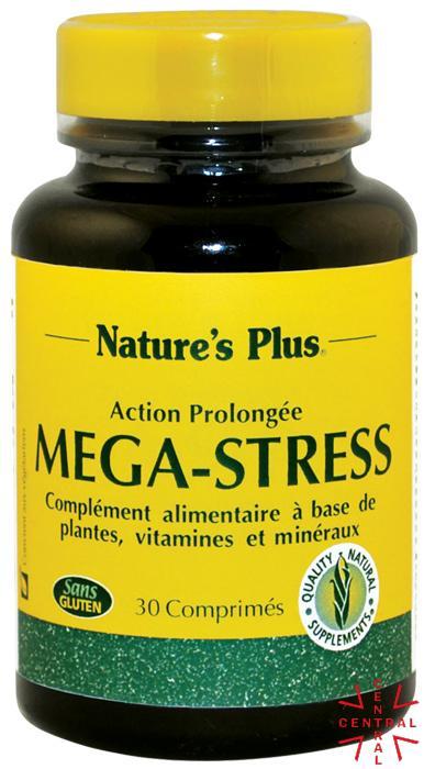Mega Stress 30c Nature's Plus