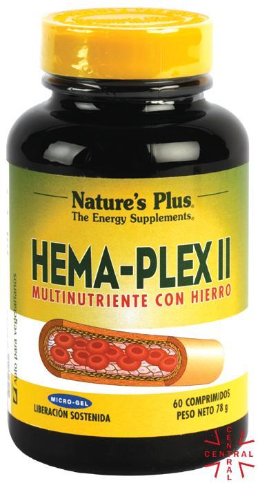 HemaPlex II 60c Nature's Plus