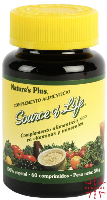 Source of Life 60c Nature's Plus