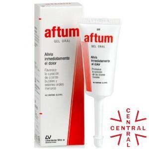 AFTUM gel oral úlceras bucales 15ml VIÑAS