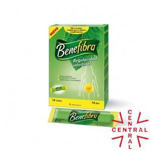 BENEFIBRA FIBRA SOLUBLE LIQUIDO 12 SOBRES 60 ML Novartis