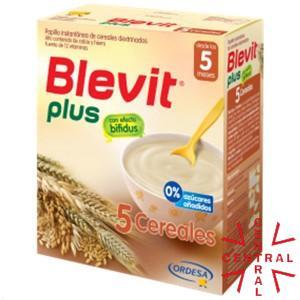 BLEVIT PLUS 5 CEREALES 600 G Ordesa