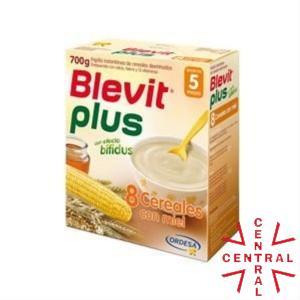BLEVIT PLUS 8 CEREALES CON MIEL 600 G Ordesa