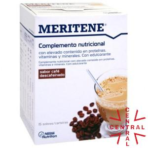 MERITENE active senior nutrition 15sb CAFE DESCAFEINADO