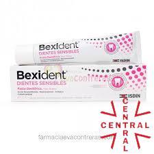 BEXIDENT dientes SENSIBLES pasta dental  75 ML Isdin