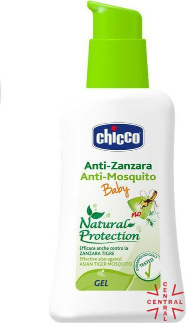 chicco anti-mosquitos infantil gel eficaz también contra el mosquito tigre 60ml 2+