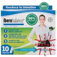 IBEROBALANCE YOBALEX 10 caps probiótico+fibra prebiotica bayer