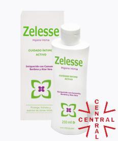 Zelesse higiene íntima sin parabenos sin colorantes  250ml+100ml