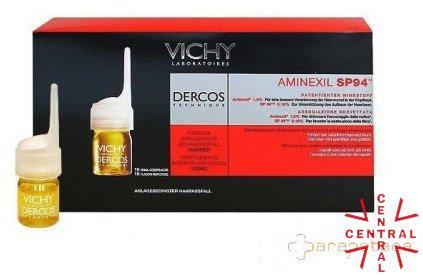 VICHY DERCOS AMINEXIL PRO hombre 18 dosis anticaida Vichy