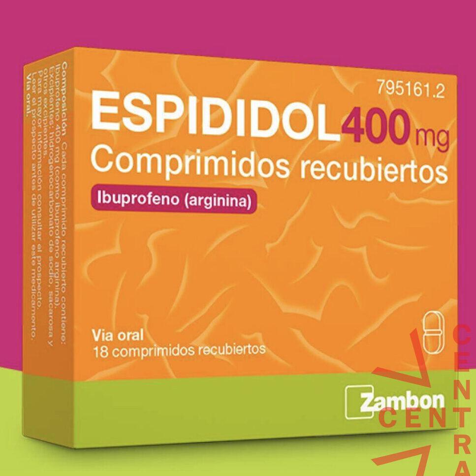 Ibuprofeno arginina