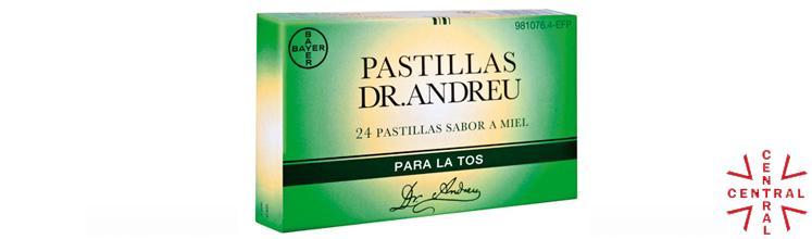 PASTILLAS Dr. ANDREU miel 24u