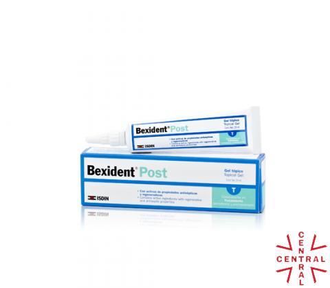 BEXIDENT gel postquirúrgico tópico 25ml Isdin