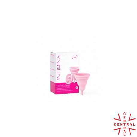 INTIMINA  copa menstrual plegable lily cup compact T-A