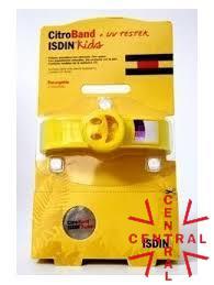 CITROBAND isdin kids+UV tester con 2 recargas