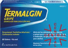 TERMALGIN GRIPE 10 sobres Novartis