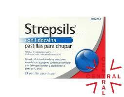 STREPSILS lidocaína 24 pastillas reckitt