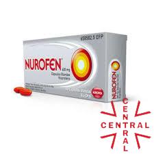 NUROFEN 400mg caps Ibuprofeno reckitt