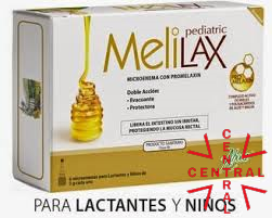 MELILAX 6 microenamas pediatric Aboca