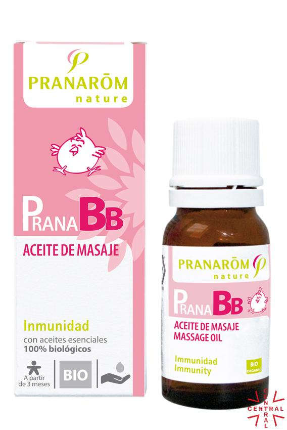 PranaBB Inmunidad Aceite de masaje 10ml Pranarom