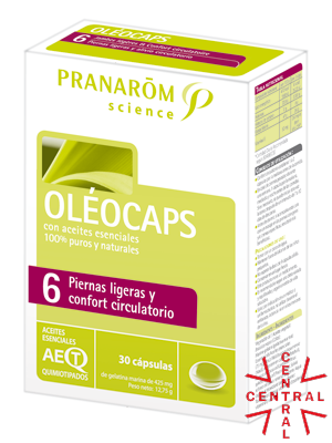 Pranarom oleocaps Nº6 confort circulatorio