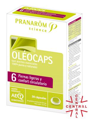 Pranarom oleocaps Nº6 confort circulatorio