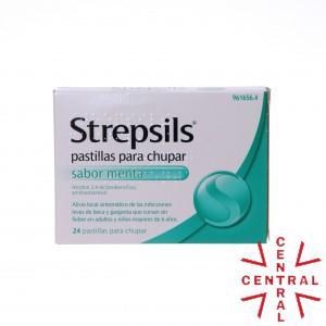 STREPSILS ORIGINAL/MENTA 24 PASTIL reckitt