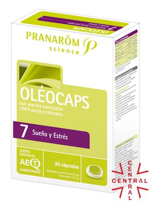 Pranarom oleocaps Nº7 Sueño y estrés