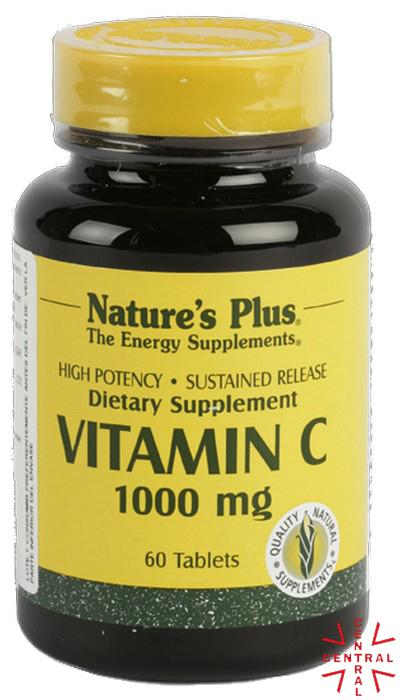Vitamina C 1000 60c Nature's Plus