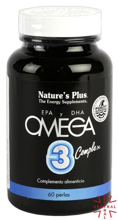 Omega 3 Complex 60 perlas Nature's Plus