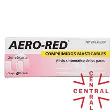 AERO-RED 40mg simeticona 30 comp masticables