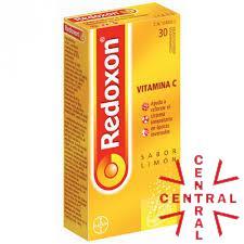 REDOXON VIT C  30 comp SABOR LIMON Bayer