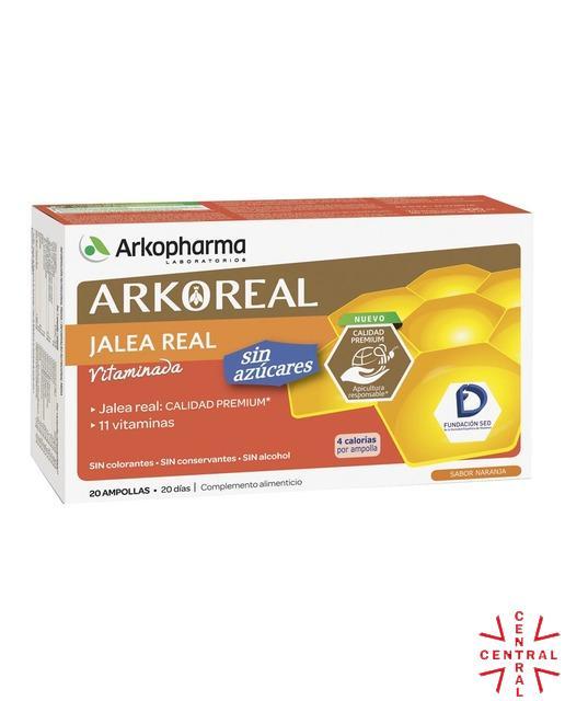 ARKO jalea real 1000mg light sin azucar 20 ampollas