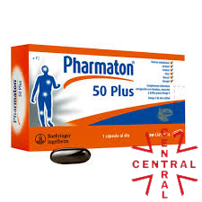 PHARMATON 50 Plus 30 caps boehringer