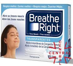Breatthe rigth 10 tiras nasales transparentes GSK