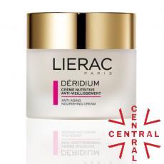 LIERAC DERIDIUM crema nutritiva anti envejecimiento piel seca y muy seca