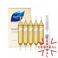 PHYTOHUILE D´ALES baño de brillo alta hidratación cabellos secos 5 amp phyto