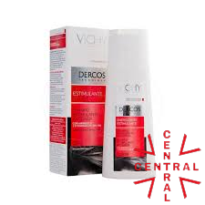 DERCOS Champú estimulante anticaida sin parabenes 200ml Vichy