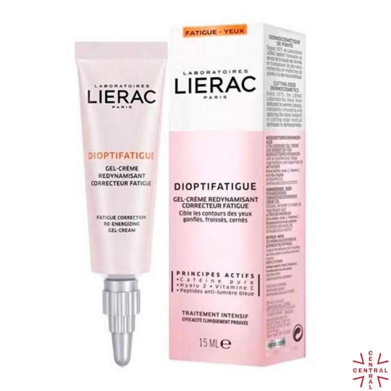 LIERAC Dioptifatigue gel corrector antifatiga contorno de ojos 15ml
