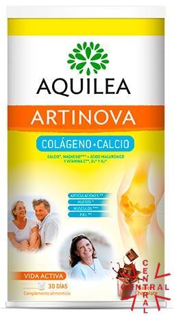 AQUILEA ARTRINOVA colágeno + calcio 495g ssabor chocolate 30 días