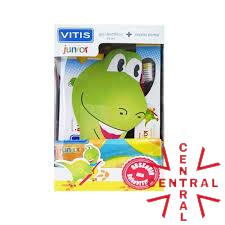VITIS junior gel dentífrico + cepillo dental regalo buff