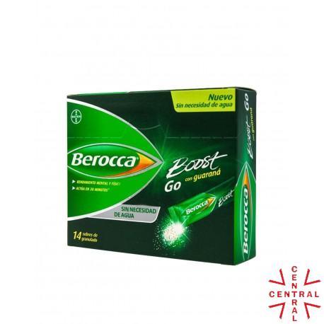 BEROCCA  boost Go 15 granulado 14 sobres Bayer