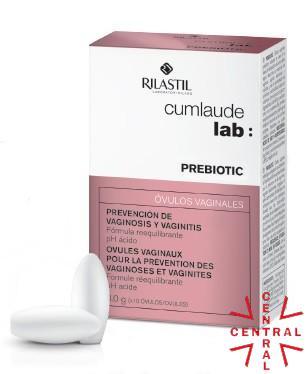 CUMLAUDE prebiotic 10 ovulos vaginales