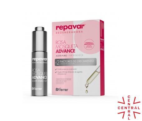 Reparar REGENERADORA Aceite Puro de Rosa Mosqueta + 2 factores de crecmimineto 15ml