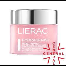 LIERAC Hydragenist gel crema hidratante rellenadora pieles secas 50ml