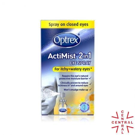 OPTREX actimist spray picor de ojos + lagrimeo 10ml reckitt