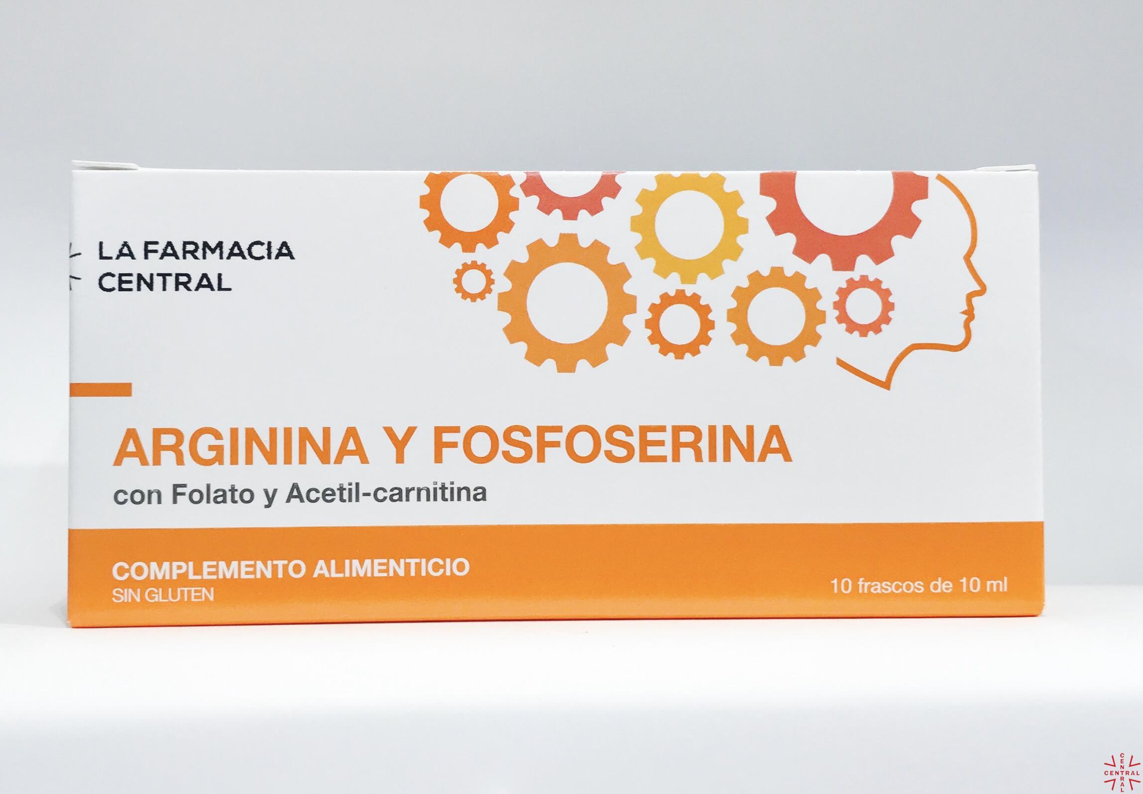 LFC  Arginina y Fosfoserina 10 frascos 10ml