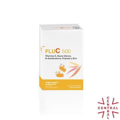 LFC FluC 500 20 comp efervescentes antigripal