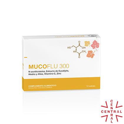LFC MUCOflu 300 12 sobres mucolítico moco espeso