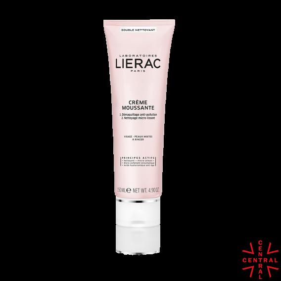 LIERAC limpieza Crema espumosa 2 en 1 150ml